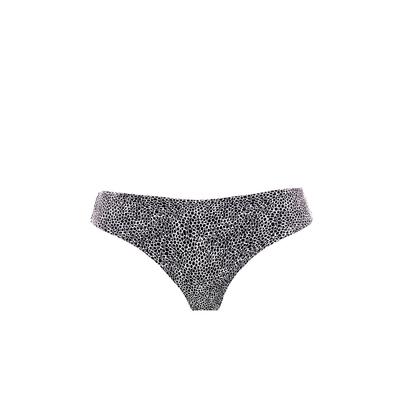 Bikini-Slip Run Wild, schwarz gemustert (Hose)