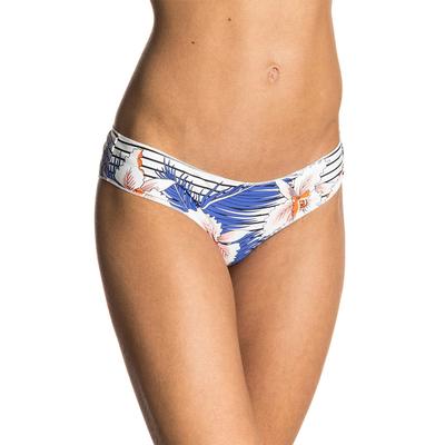 Bikini-Slip Hot Shot, weiß mit Blumenprints (Hose)