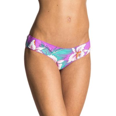 Bikini-Slip Hot Shot, rosa mit Blumenprints (Hose)