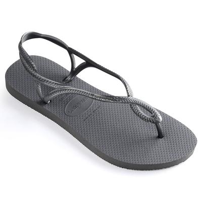 Flip-Flops Luna, grau
