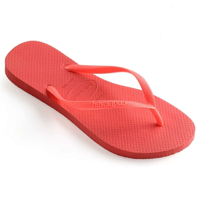 Flip-Flops Slim, koralle orange