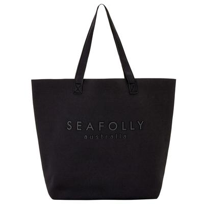 Strandtasche Carried Away, in schwarz