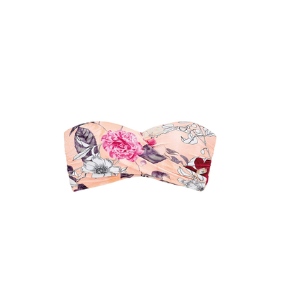 Bandeau-Bikini Modern Love, in rosa (Oberteil)