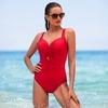 beau-maillot-de-bain-rouge-amincissant-rivage-6503075