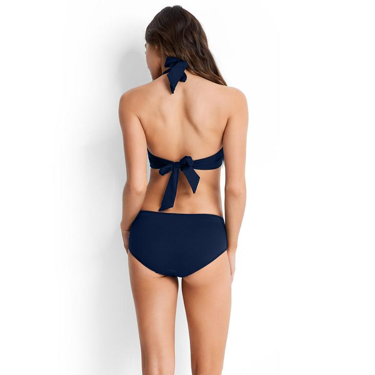 trendiger high waist bikini seafolly sexy bikini hohe taille. Black Bedroom Furniture Sets. Home Design Ideas