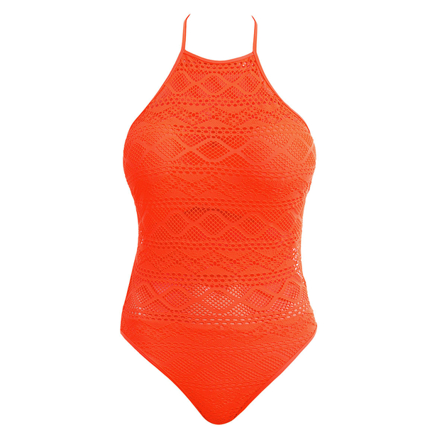 maillot-de-bain-1-pièce-grande-taille-en-dentelle-orange-freya-sundance-AS3974