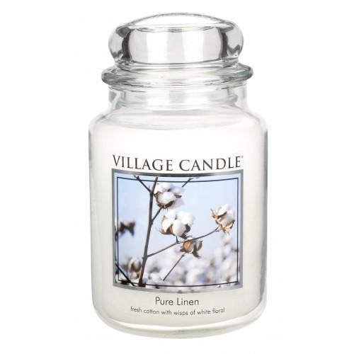 Bougie Fleur De Coton Grande Jarre Village Candle Bougies Et