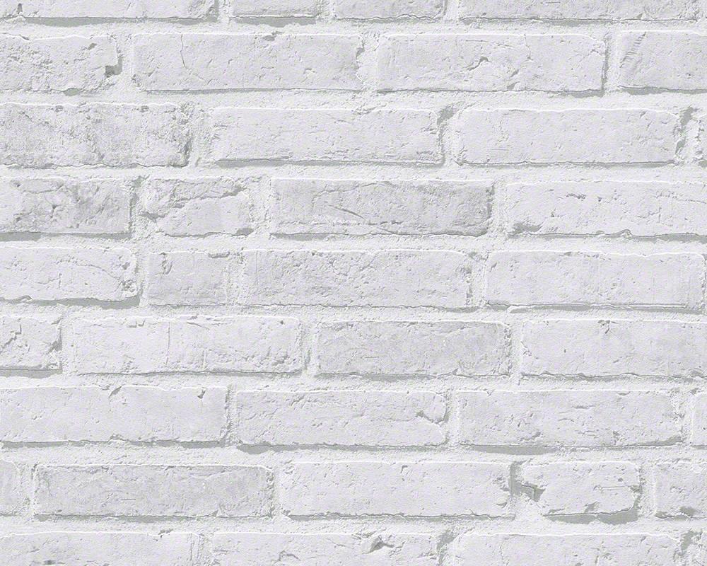 Papier Peint Intiss Brique Gris Clair Papiers Peints Papier