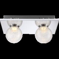 Plafonnier SAKEKA 2 boules 2xLED