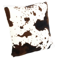 Coussin vache - verso blanc 45x45