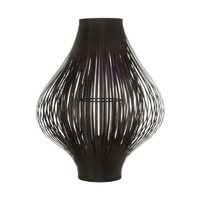 Lampe à poser noire YISA 45cm