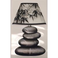 Sticker 3D lampe galet noir