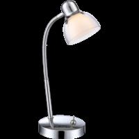 Lampe de bureau PIXIE chrome LED H36 cm