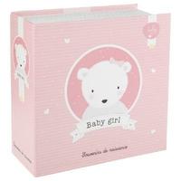 Coffret souvenirs naissance bébé fille rose