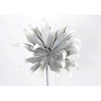 Fleur LAMBA gris irisé H87cm