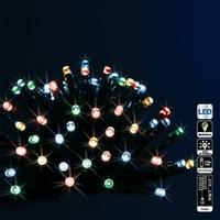 Guirlande extérieure programmable à piles Multicolore 192 LED