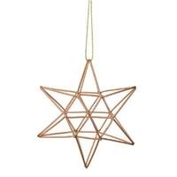 Suspension étoile géométrique COPPER