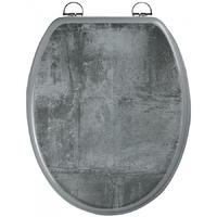 Abattant WC décor béton