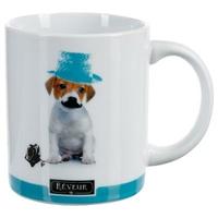Mug photo chien REVEUR bleu 35CL