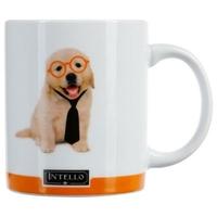 Mug photo chien INTELLO orange 35CL