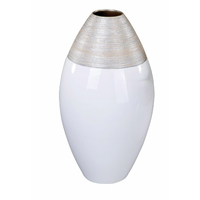 Vase LAETI champagne crème H40cm