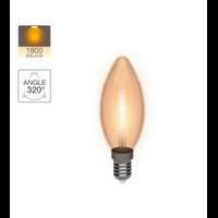 Ampoule flamme vintage E14