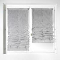 Paire vitrages tomettes gris 60 x 200