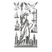 Sticker 3D ville New-York