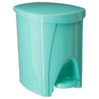 Poubelle ELISA 6L vert d'eau