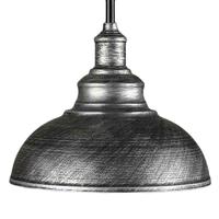 Suspension CHATILLON noir/argent D30cm