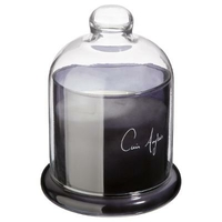 Bougie parfumée sous cloche - Cuir Anglais 450g