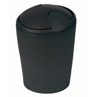 Poubelle plastique MOOVE 3L - noir