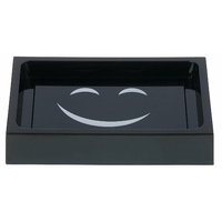 Porte savon SMILING noir