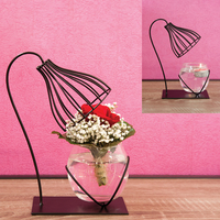 Vase bougeoir lampe 1 boule