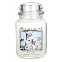 Bougie Fleur de Coton grande jarre - Village Candle