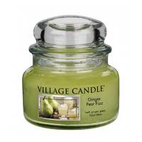 Bougie Poire Gingembre petite jarre - Village Candle