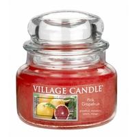 Bougie Pamplemousse rosé petite jarre - Village Candle