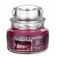 Bougie Plage de Palmiers petite jarre - Village Candle