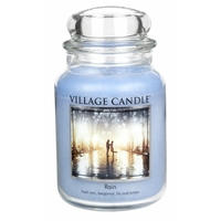 Bougie Pluie fine grande jarre - Village Candle