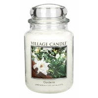 Bougie Gardenia grande jarre - Village Candle