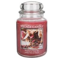 Bougie Thé à la Framboise grande jarre - Village Candle