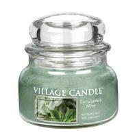 Bougie Menthe Eucalyptus petite jarre - Village Candle