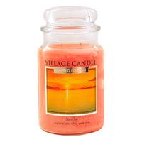 Bougie Lever Du Soleil grande jarre - Village Candle