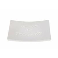 Porte savon SAVON DE MARSEILLE blanc