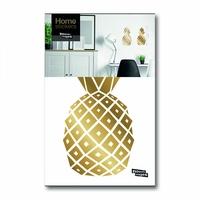 Stickers ananas dorés x2