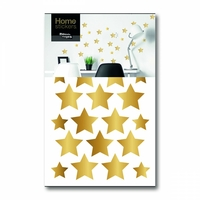 Stickers étoiles dorées