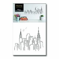 Sticker mural New York Skyline