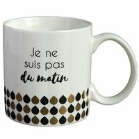 Mug - Je ne suis pas du matin