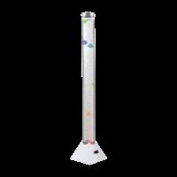 Lampadaire colonne à bulles poissons RGB
