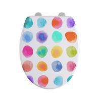 Abattant WC Aquarelle Multicolore